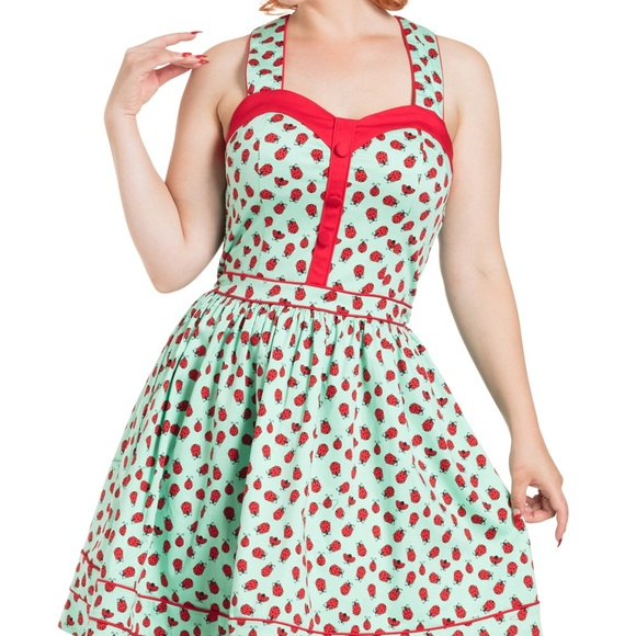 VOODOO VIXEN 50/'S VINTAGE STYLE RETRO PIN-UP FLARED LILLIAN FLORAL SWING DRESS